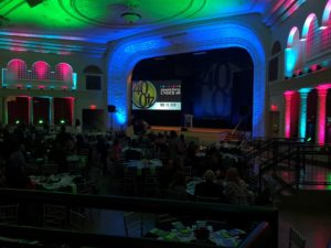 Crain's Forty Under 40 event lighting