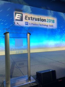 Extrusion 2018 conference branding