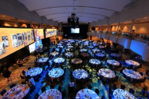 large scale event screens and lighting