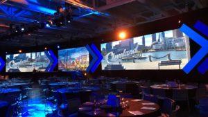 Cleveland event screens